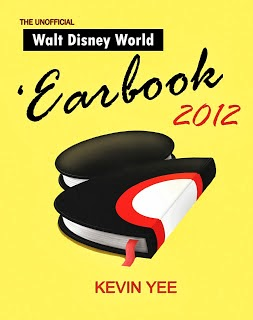 Earbook cover showing a book that looks like half a classic Mickey.