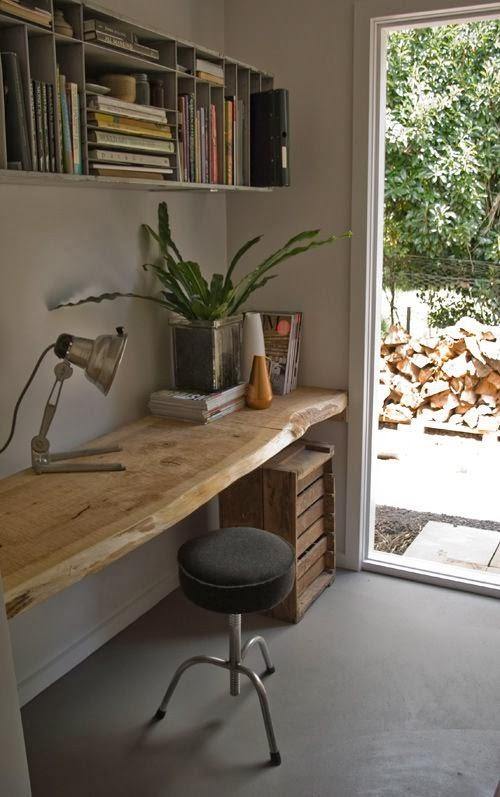 Ejemplos de mesas de escritorio