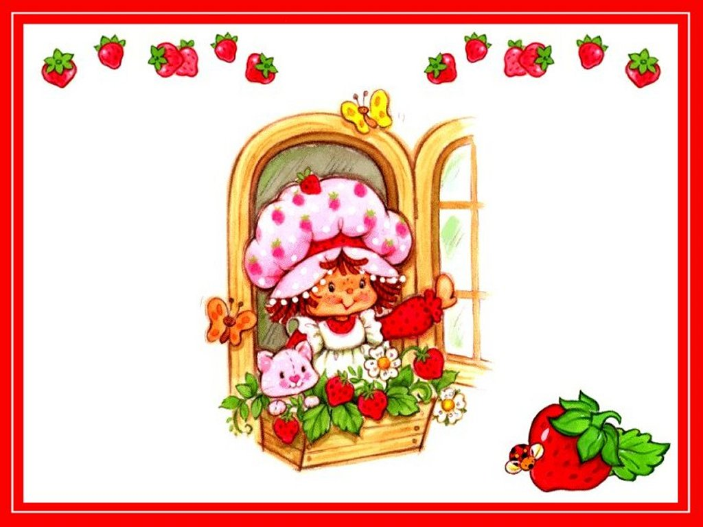 ... Tarta de Fresas Strawberry Shortcake: IMAGENES DE FRUTILLITA