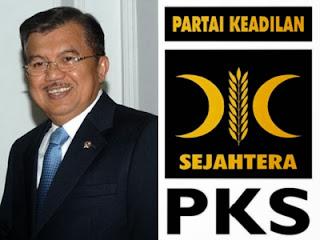 Jusuf Kalla dan PKS - ilustrasi
