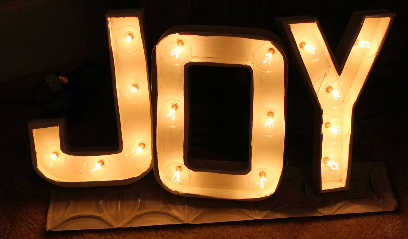 Joyworks joy for Lighted letters joy