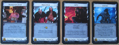 Dominion - Some of the attack cards