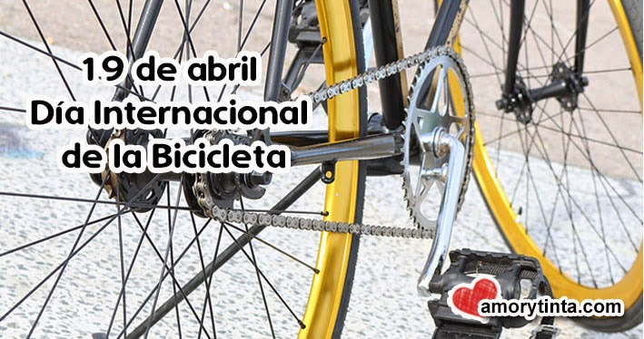19 de abril dia internacional de la bicicleta