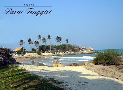 Objek wisata Pantai Parai Tenggiri Bangka Belitung