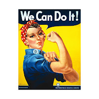 """""""We Can Do It!"""" by J. Howard Miller"""