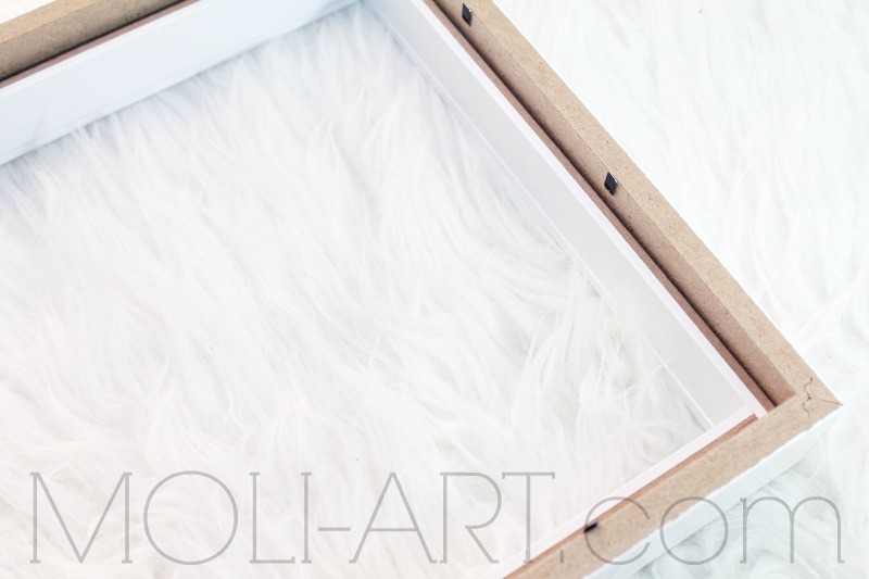 Diy bandeja decorativa con marcos de fotos moli art - Marcos con profundidad ...