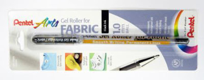 Pentel Gel Roller Pen for Fabric