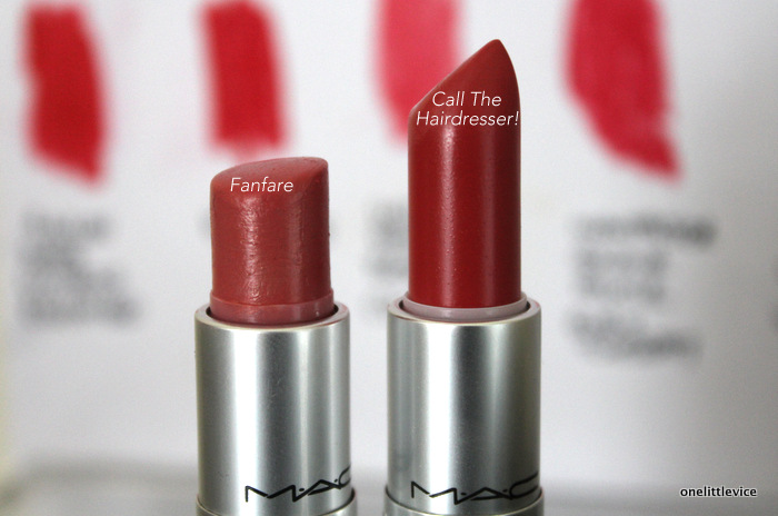 one little vice beauty blog: mac lipstick haul
