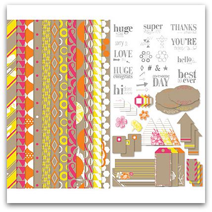 Stampin' Up! Neon Notes Kit - Digital Download