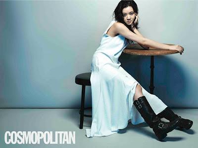 Go Ah Sung - Cosmopolitan Magazine July Issue 2013