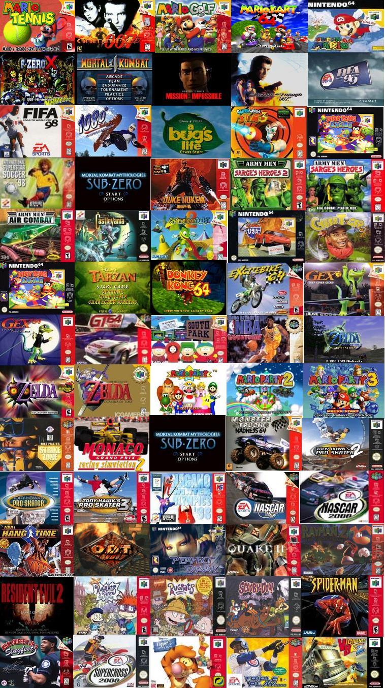 descargar juegos de n64 para pc
