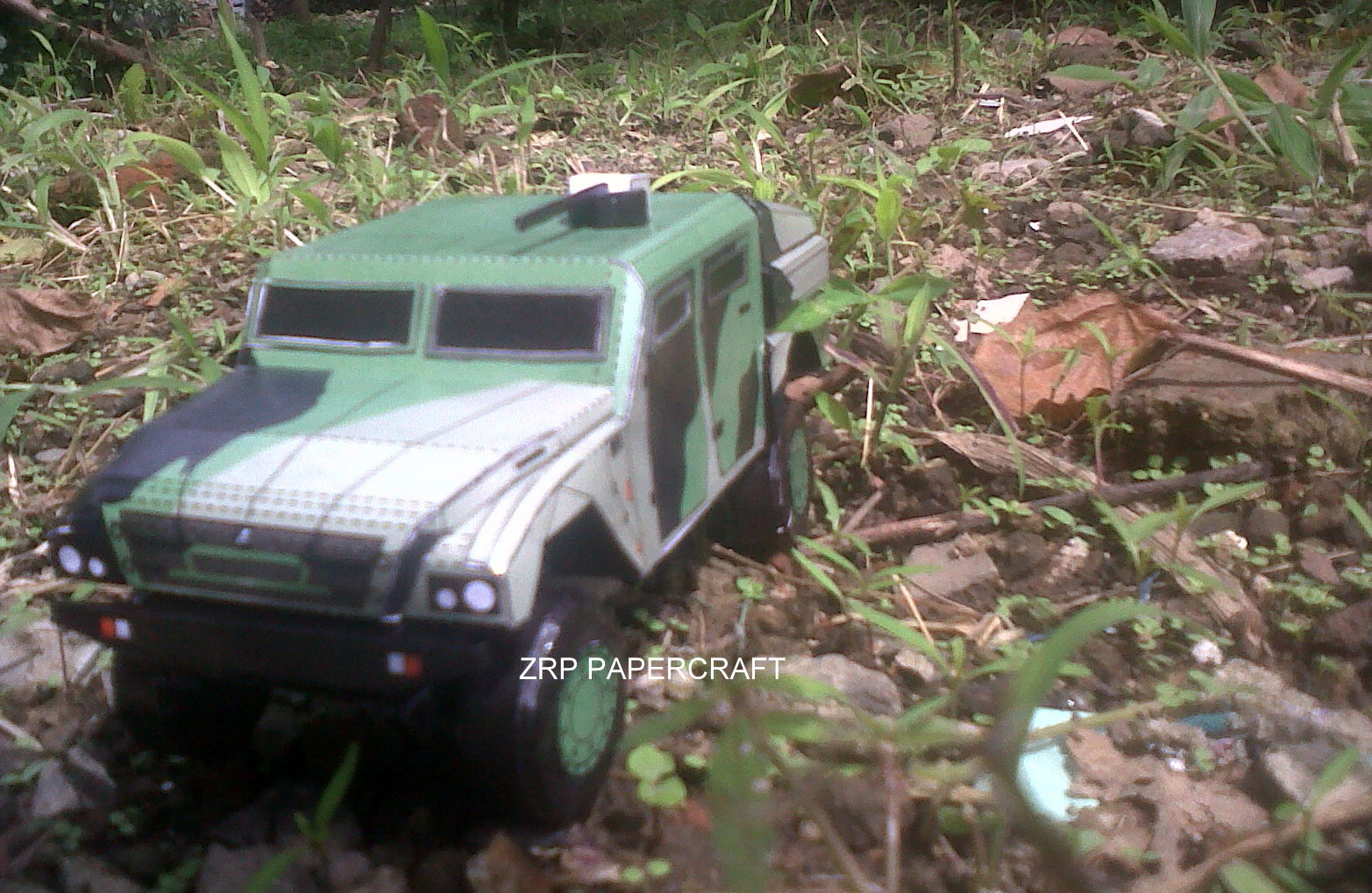 Elang Recon Vehicle Papercraft