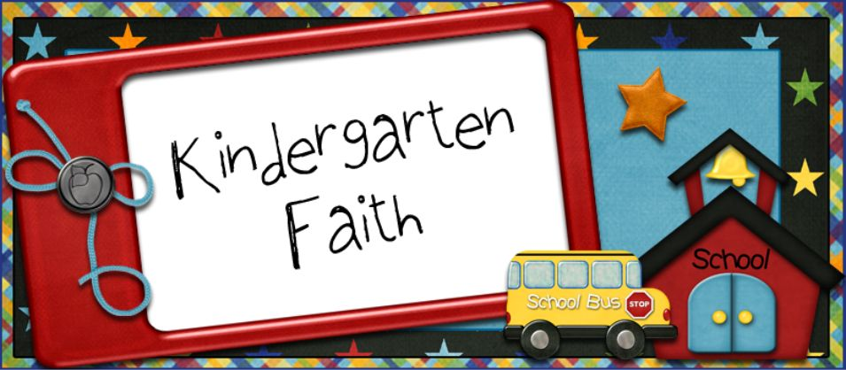 Kindergarten Faith