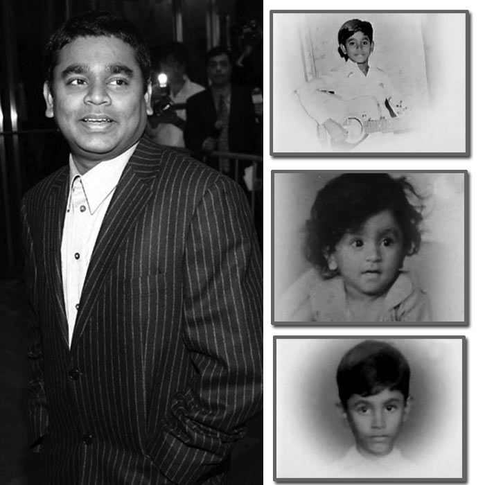 AR Rahman childhood Photos