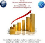 Basketball Statistics Suite Tools Silver Edition©  The next Generation of Statistical Data Analysis