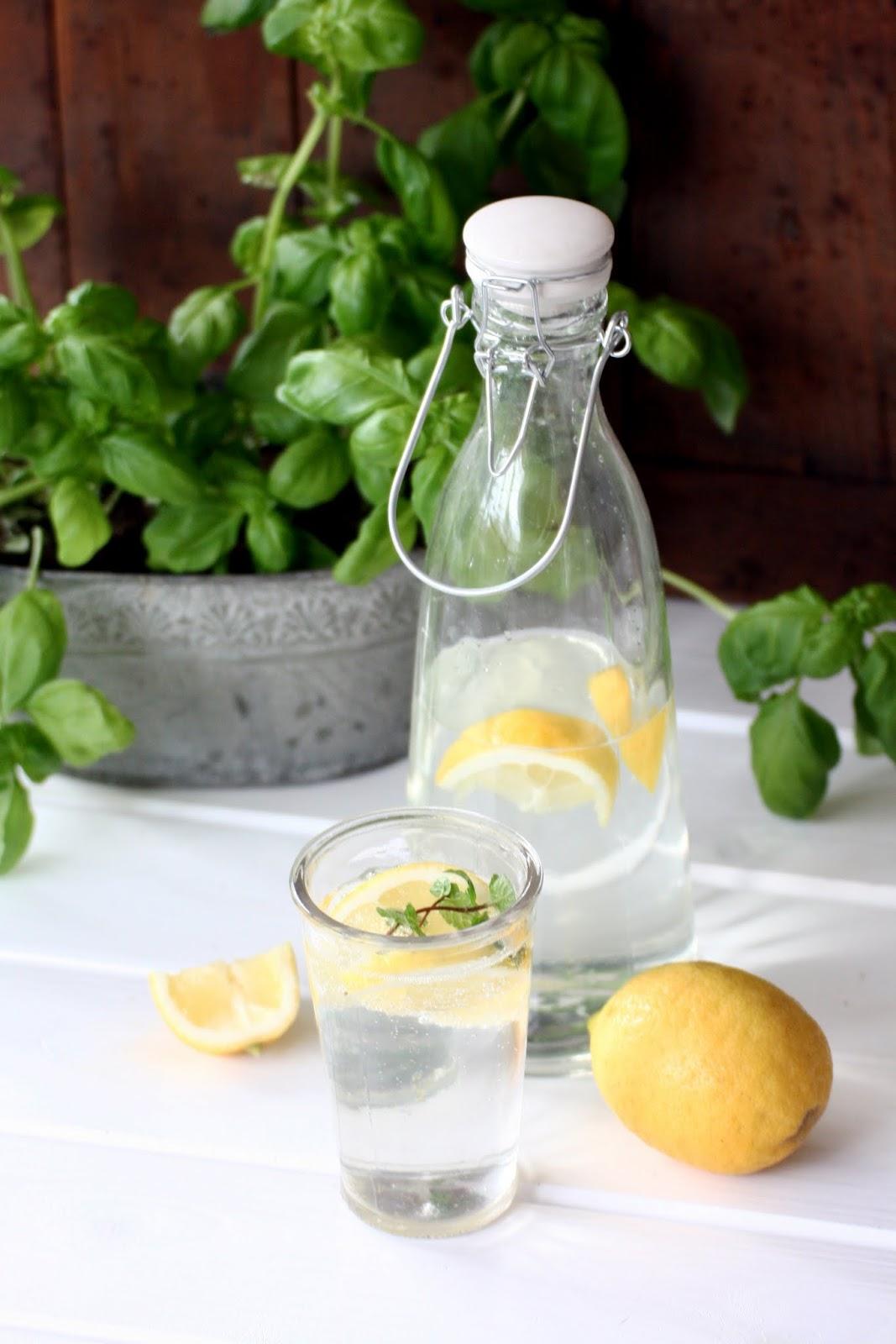 Zitronenlimonade hausgemacht, Rezept