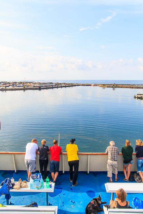 Amalie loves Denmark Ferienurlaub auf Bornholm – Die Fähranreise