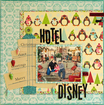 Disney, Tree, tags, scrapbooking
