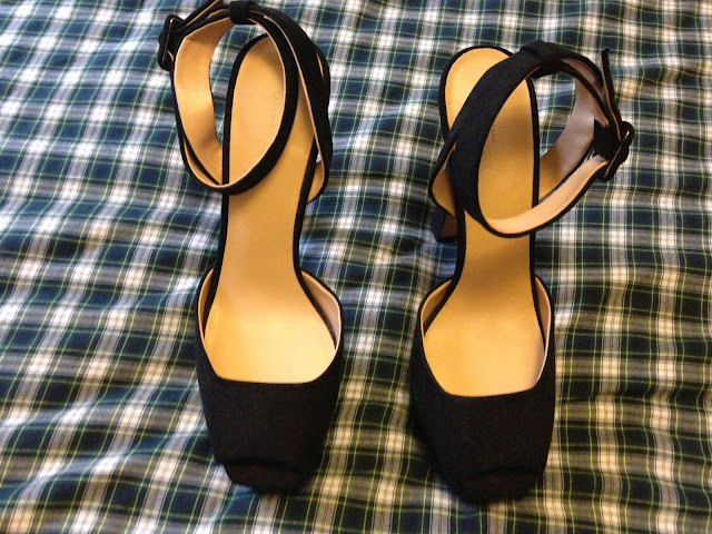 Zara sandal high heel