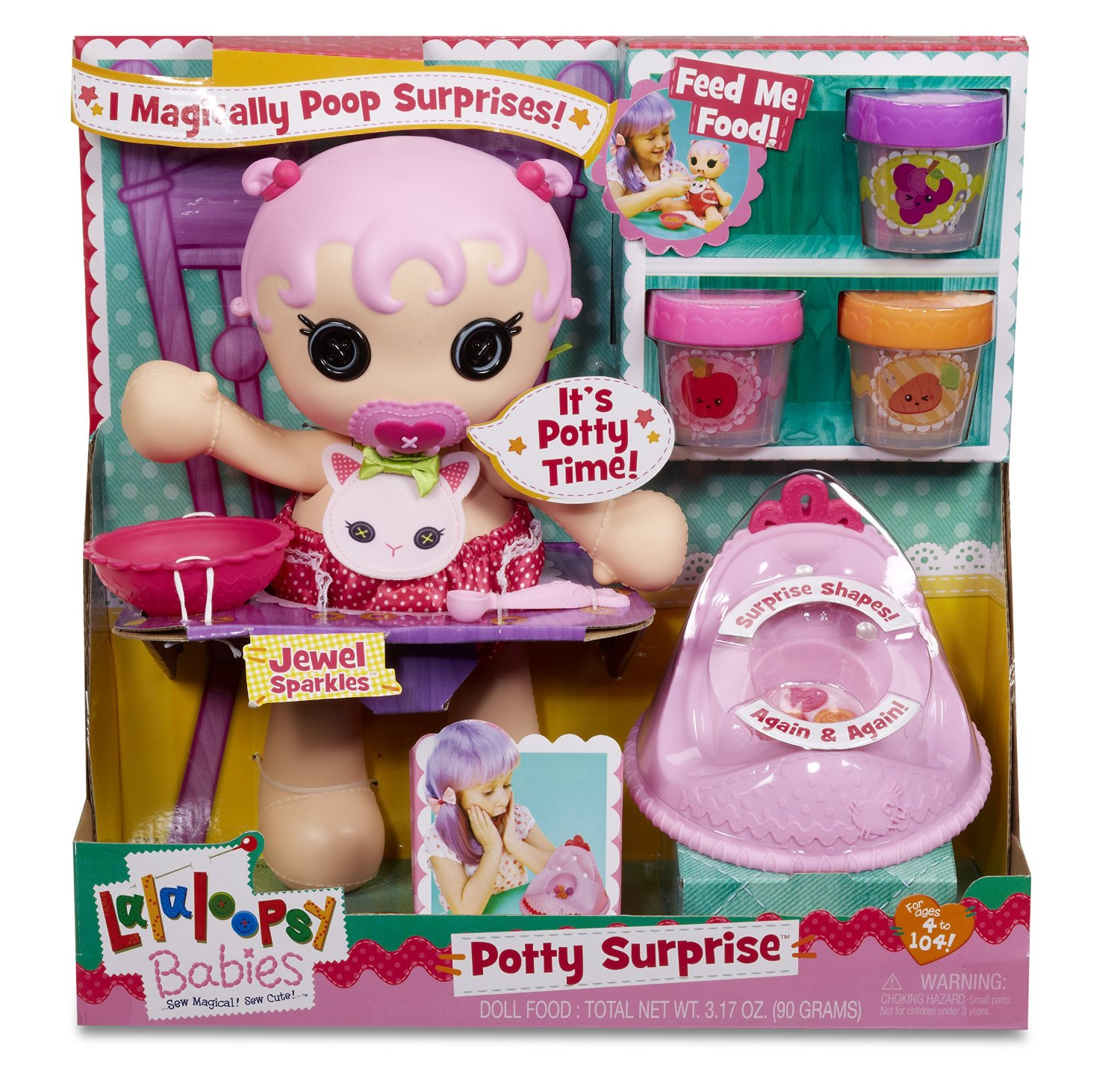 New Age Mama Lalaloopsy Babies Surprise Potty Doll