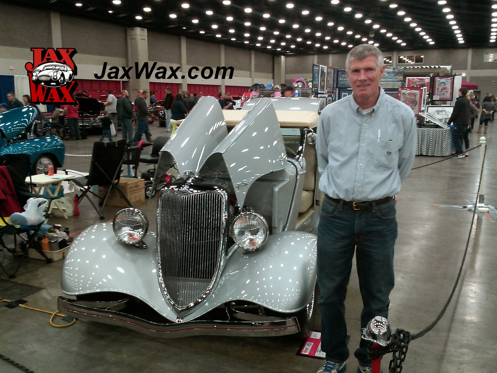 1934 Ford Roadster Carl Casper Auto Show Jax Wax Customer