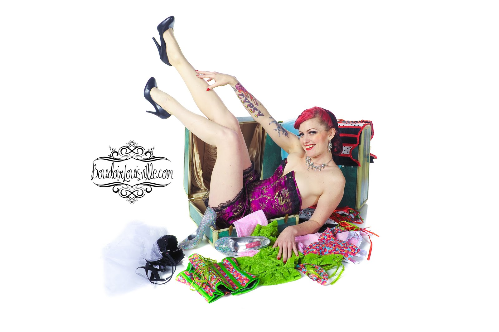 Visit Go-Go Amy's Pin-Up Class