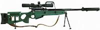 SV-98 sniper rifle