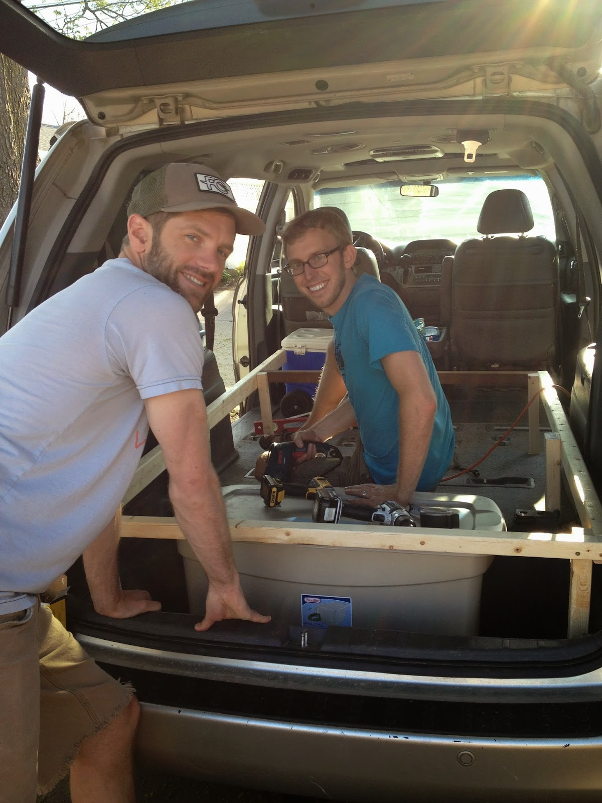 Honda Odyssey Camper >> The odyssey in the Odyssey: The makings of a camper van