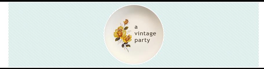 A vintage party