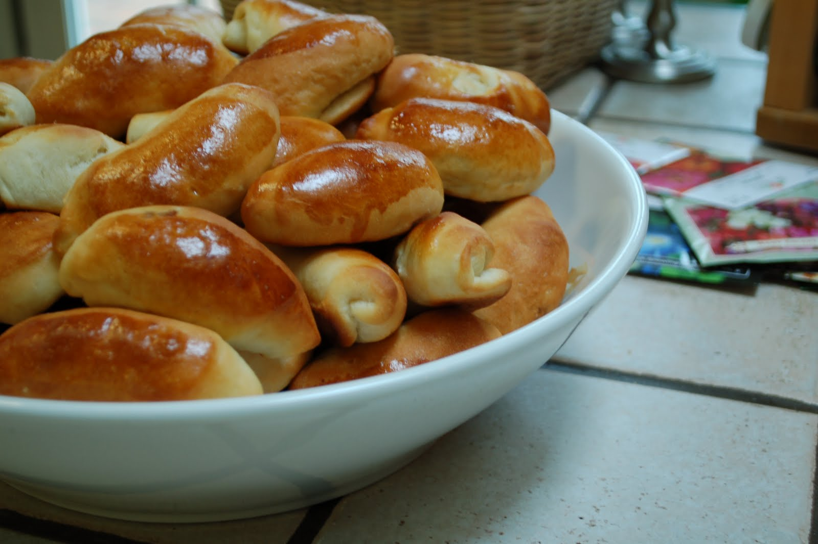 how to make latvian bacon rolls