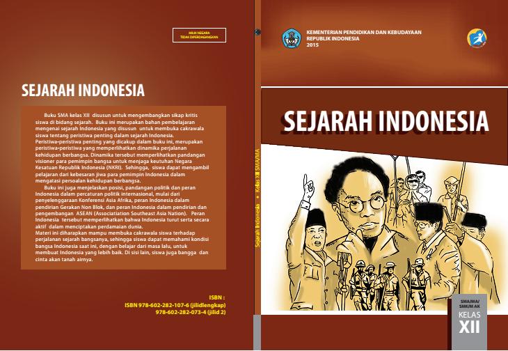 Buku Siswa Sejarah Indonesia Wajib Kelas Xii Akrab Senada