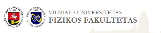 Vilniaus universiteto Fizikos fakultetas