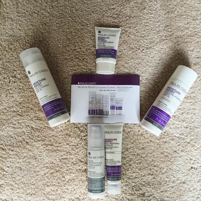 Paula's Choice, PRIMP, Pretty In My Pocket, Paula's Choice Moisture Boost Collection, skincare, skin care