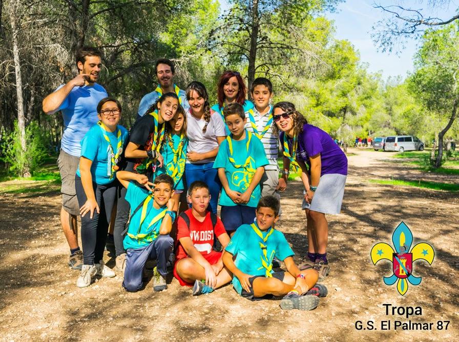 Tropa Aretes Grupo Scout El Palmar La Purisima 87