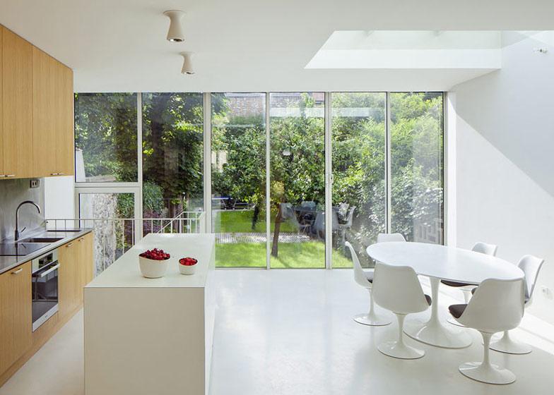 maison a vincennes by atelier zundel cristea arc art blog by daniele drigo. Black Bedroom Furniture Sets. Home Design Ideas