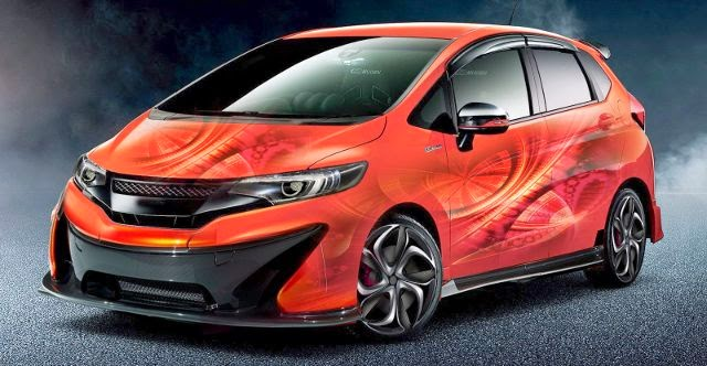 Modifikasi Honda All New Jazz