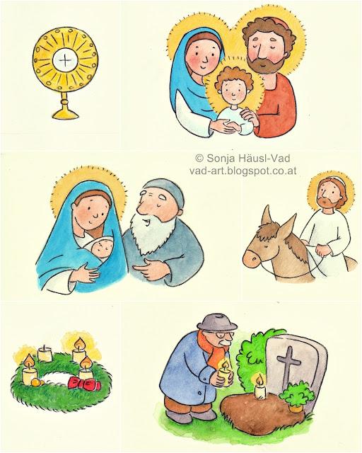 církevní rok pro děti
