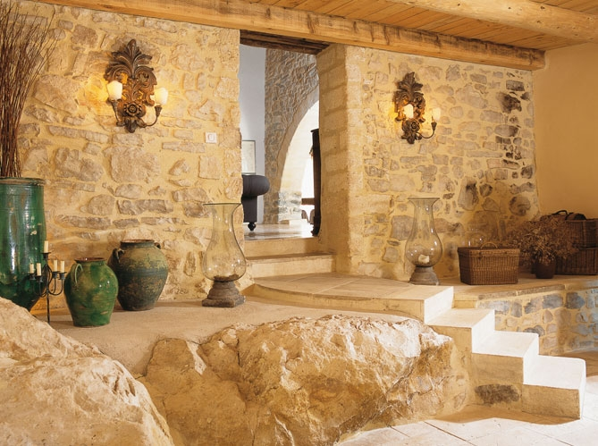 Estilo rustico casa rustica en francia - Interior casas rusticas ...