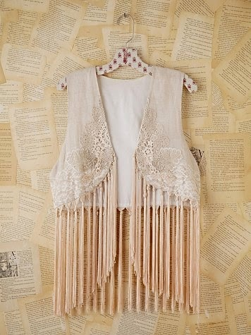 chaleco flecos free people