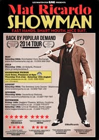 """Showman"" UK tour 2014"