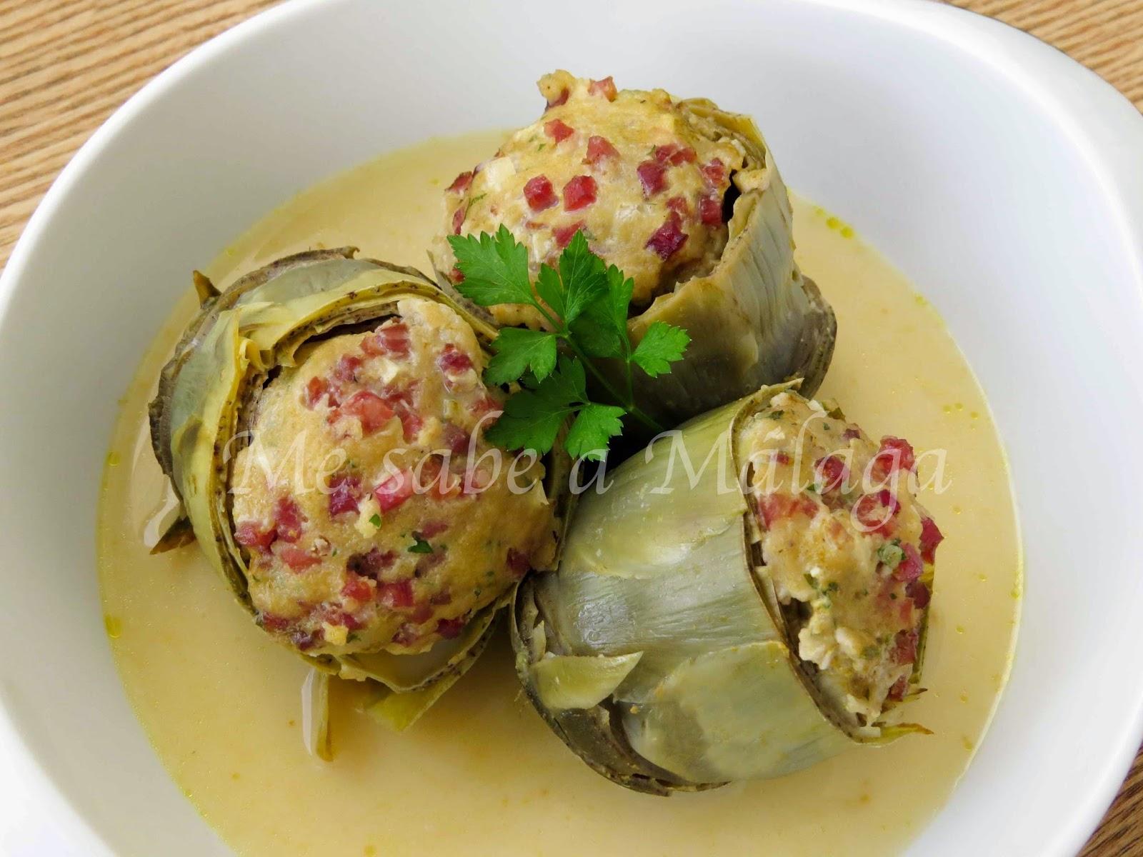 Alcachofas cocidas cocinar en casa es for Cocinar alcachofas de bote