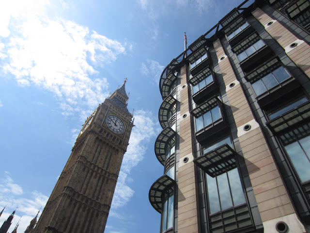 Big Ben and Portcullis House, Westminster
