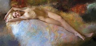 Pintura Artistica De Desnudo