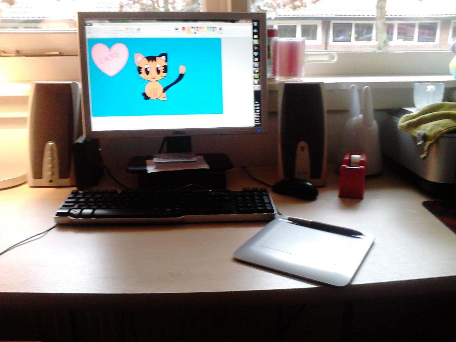 Tekenen cool mei 2013 for Zelf tekenen op de computer