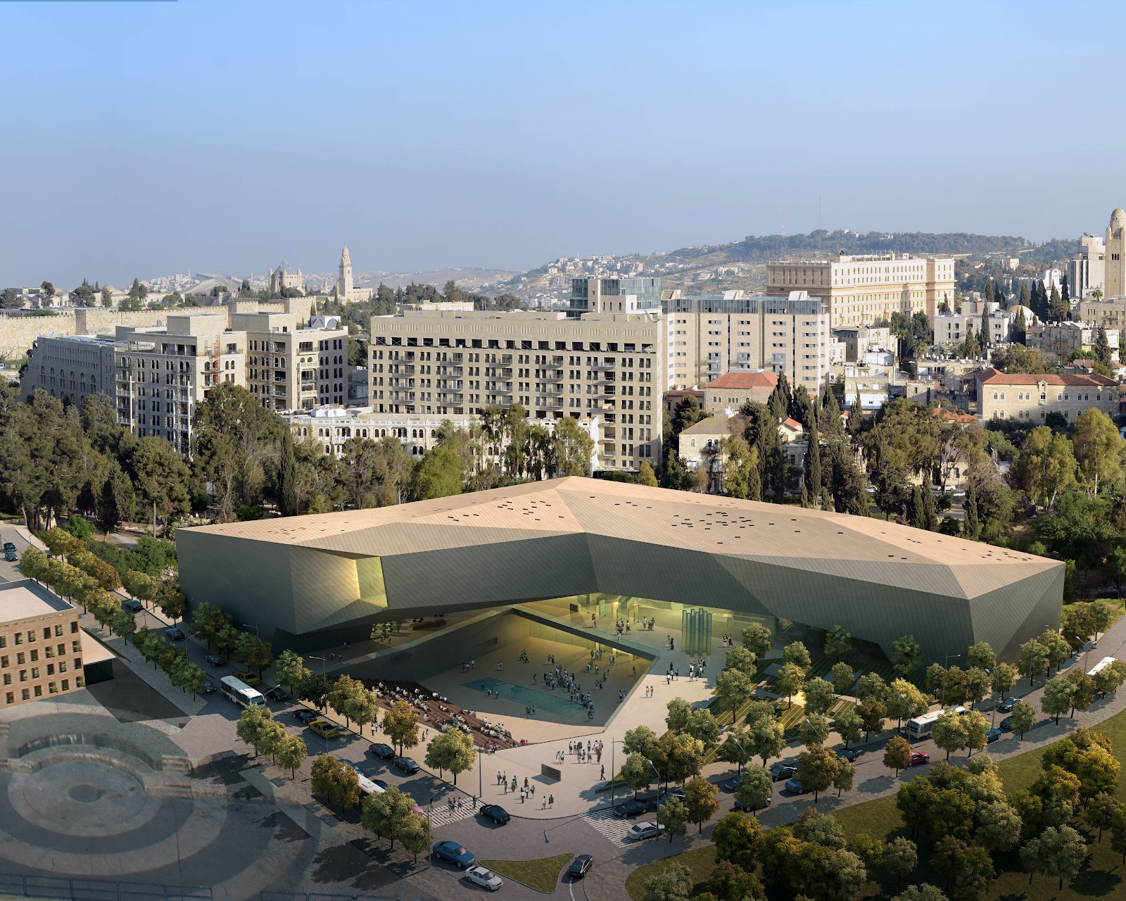 from the g man excavation begins on the museum of tolerance jeru m excavation begins on the museum of tolerance jeru m