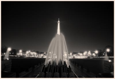 Fontaine et la tour Eiffel,2014