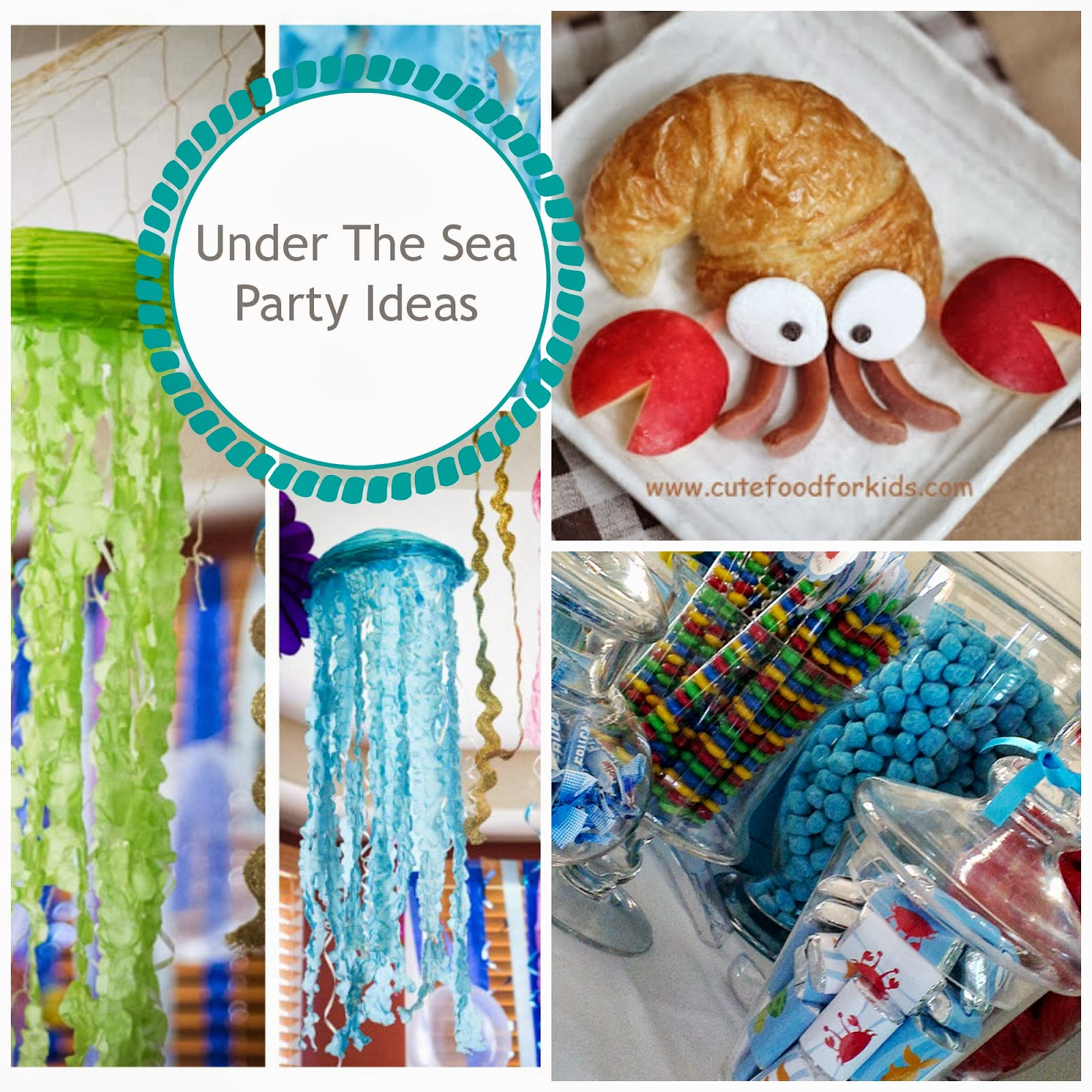 Perfect party themes under the sea party - Th party theme ideas ...