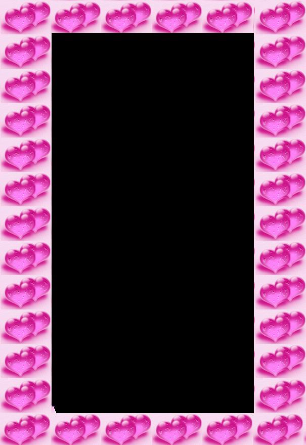 pink valentine frame photoshop cs5 2012