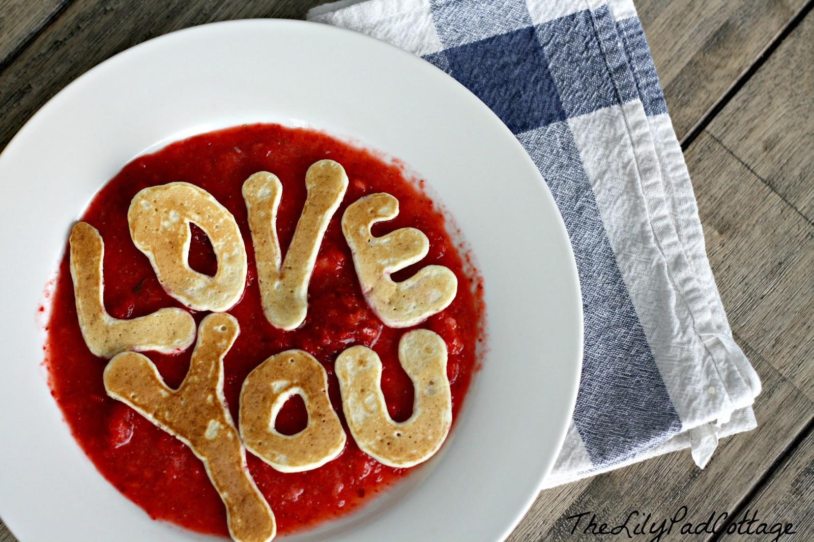 Schön Valentine Pancakes