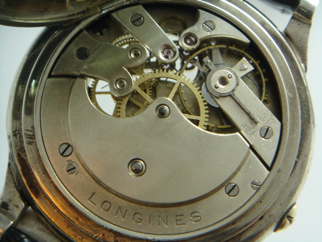 how to open a longines watch